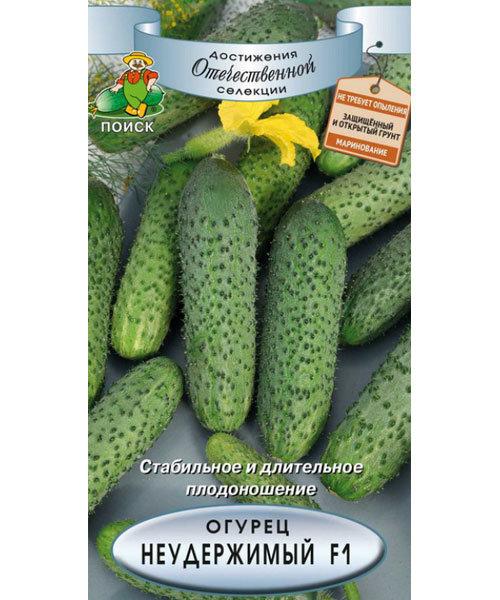 Огурец Неудержимый F1 (Поиск) семена купить по низким ценам с доставкой в интернет магазине Садовый Мир